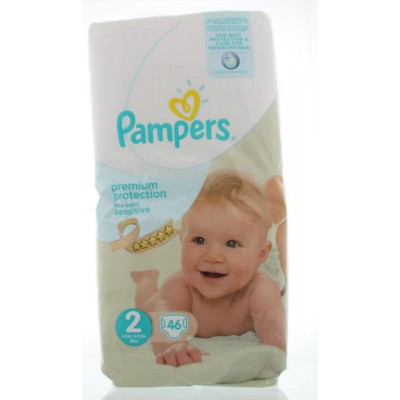 Pampers New baby mini maat 2 value