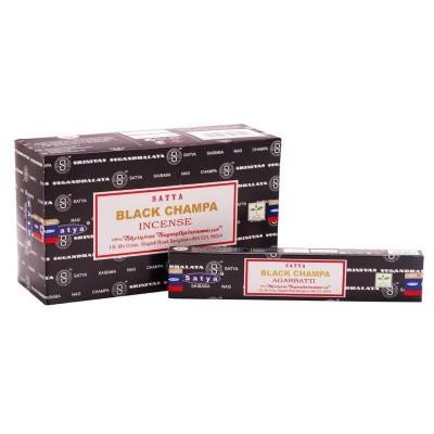 Nag Champa Wierook satya black champa