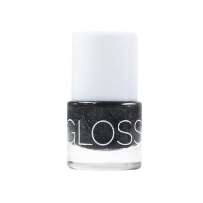 Glossworks Natuurlijke nagellak antracite