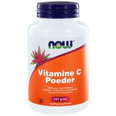 NOW Vitamine C poeder ascorbinezuur
