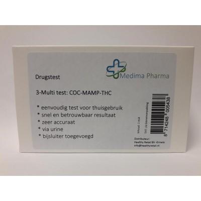 Medima Pharma Drugstest 3 multi urine