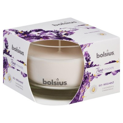 Bolsius Geurglas 63/90 true moods so relaxed