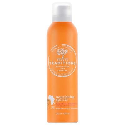 Treets Nourishing Spirits foaming shower gel
