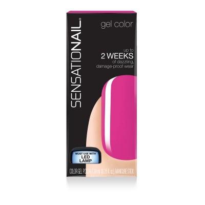 Sensationail Color gel precious peony