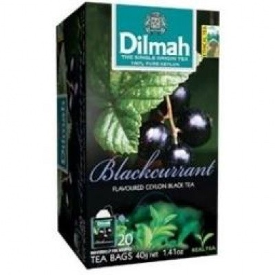 Dilmah Zwarte bes / blackcurrrant