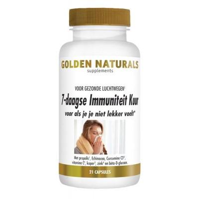 Golden Naturals 7 Daagse immuniteitskuur