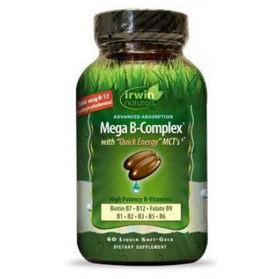 Irwin Naturals Mega B complex