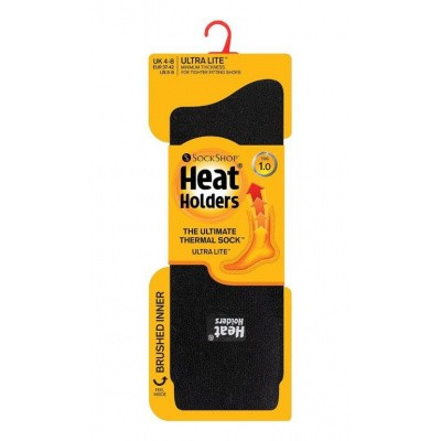 Heat Holders Ladies socks ultra lite 5-9 black