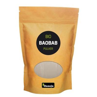 Hanoju Bio baobab poeder paperbag