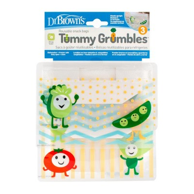 Dr Brown's Tummy grumbles snackzakjes