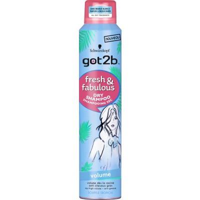 Got2b Droogshampoo fresh & fabulous volume