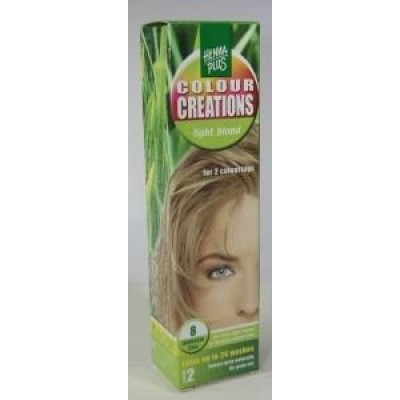 Henna Plus Colour creations 8 light blond
