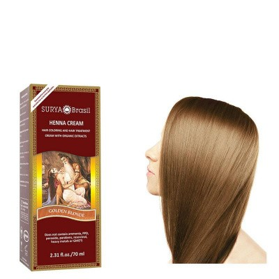 Surya Brasil Henna haarverf creme goud blond