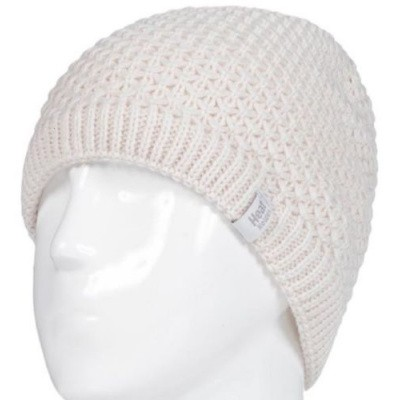 Heat Holders Ladies cable hat nora cream one size