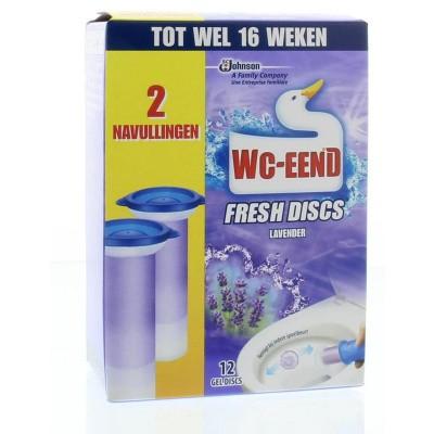 WC Eend Fresh disk lavendel navul 36 ml