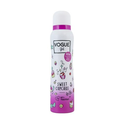 Vogue Girl anti-transpirant sweet cupcake