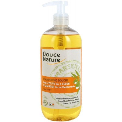 Douce Nature Douchegel & shampoo oranjebloesem