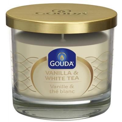 Gouda Gevuld geurglas ivoor/vanille/witte thee 90/100