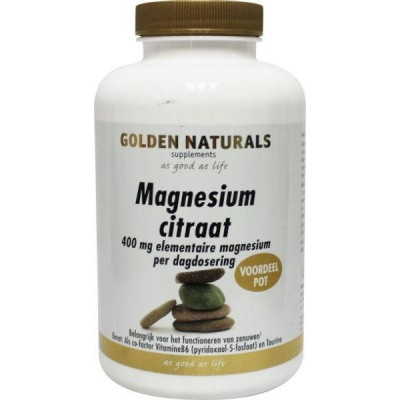Golden Naturals Magnesium citraat