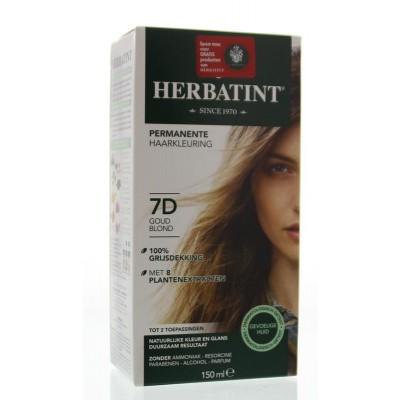 Herbatint 7D Golden blonde