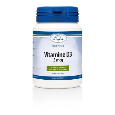 Vitakruid Vitamine D3 5 mcg