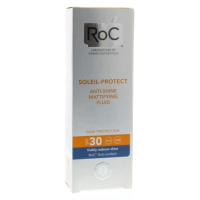 ROC Soleil protect anti shine face fluid SPF 30