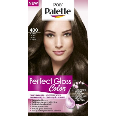 Poly Palette Perfect Gloss Haarverf 400 Intense Cacao