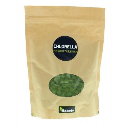 Hanoju Chlorella premium 400 mg paper bag