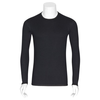 Best4body Verbandshirt zwart M/V lange mouw XXL