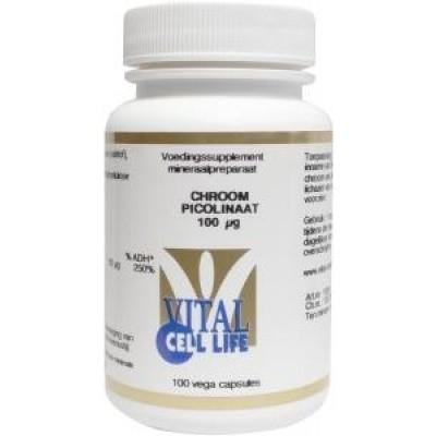 Vital Cell Life Chroom picolinaat 100 mcg