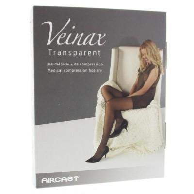 Veinax Dijbeenkous transparant licht beige 3