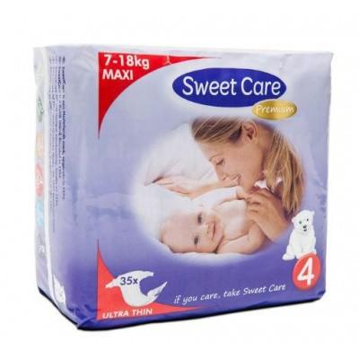 Sweetcare Premium maxi maat 4 7-18 kg