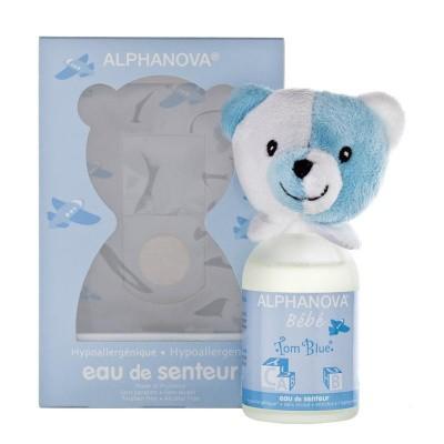 Alphanova Baby Parfum voor jongen tom blue