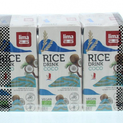 Lima Rice drink coco minipack