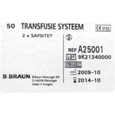 Diversen Transfusie systeem onbel A25001