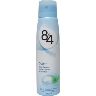 8X4 Deodorant spray pure