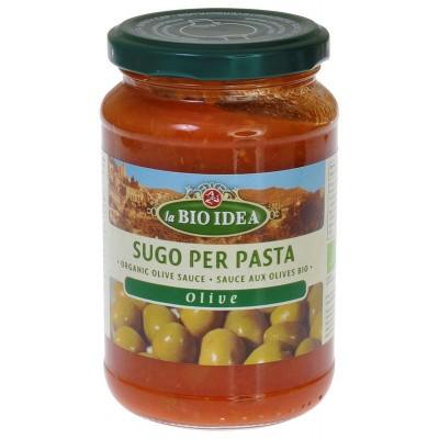Bioidea Pastasaus olijven