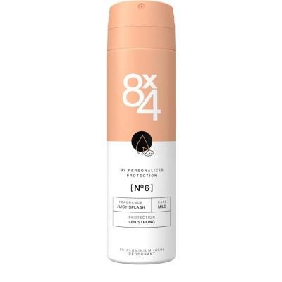 8X4 Deodorant spray no 6