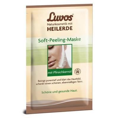 Luvos Crememasker soft peel 7.5 ml