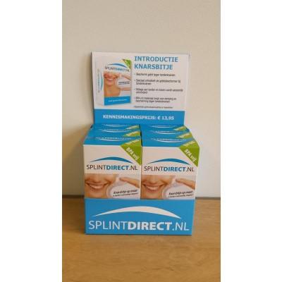 Splintdirect.nl Knarsbitje 6 stuks toonbankdisplay