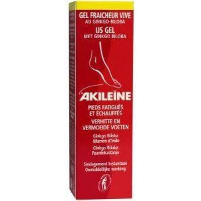 Akileine IJs gel met ginkgo tube