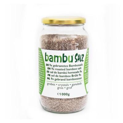Bambu Salz Bamboezout grof 9x gebrand