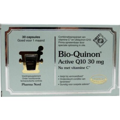 Pharma Nord Bio quinon Q10 active 30 mg