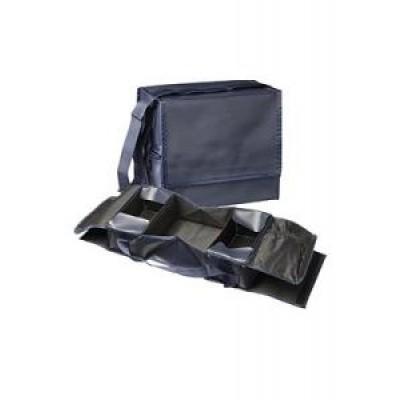 Heka EHBO tas blauw met opdruk