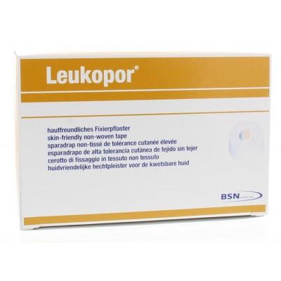 Leukopor Hechtpleister 9.2 m x 1.25 cm 2453