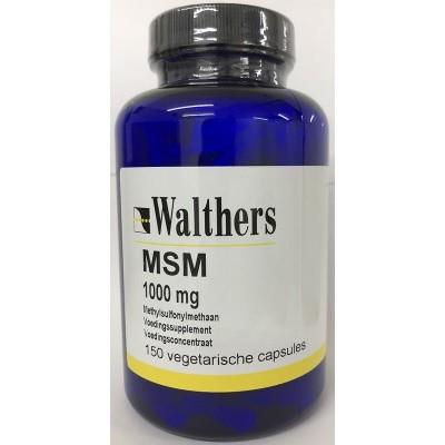 Walthers Methylsulfonylmethaan (MSM) 1000 mg