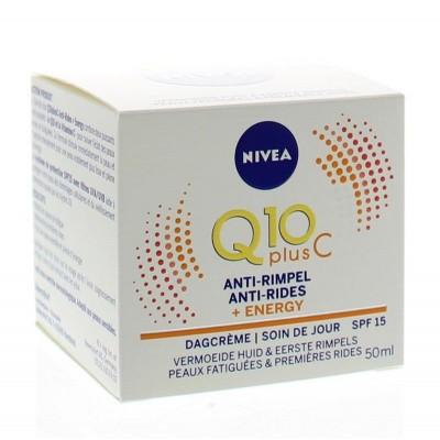 Nivea Q10 plus energy dagcreme factor 15