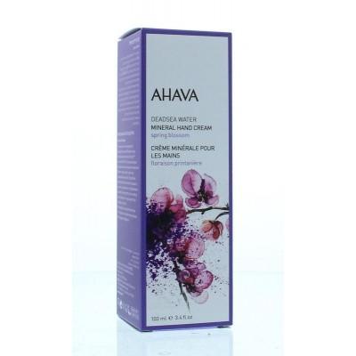 Ahava Mineral handcream spring blossom