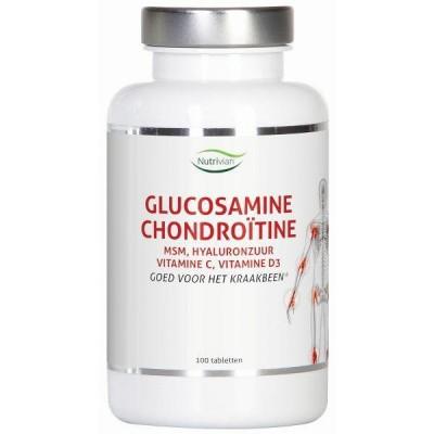 Nutrivian Glucosamine chondoitine MSM hyaluron vit D3/c