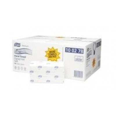 Tork Premium handdoekjes soft 100278 23x23